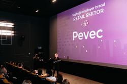 Pevec - Najbolji employer brand - Retail