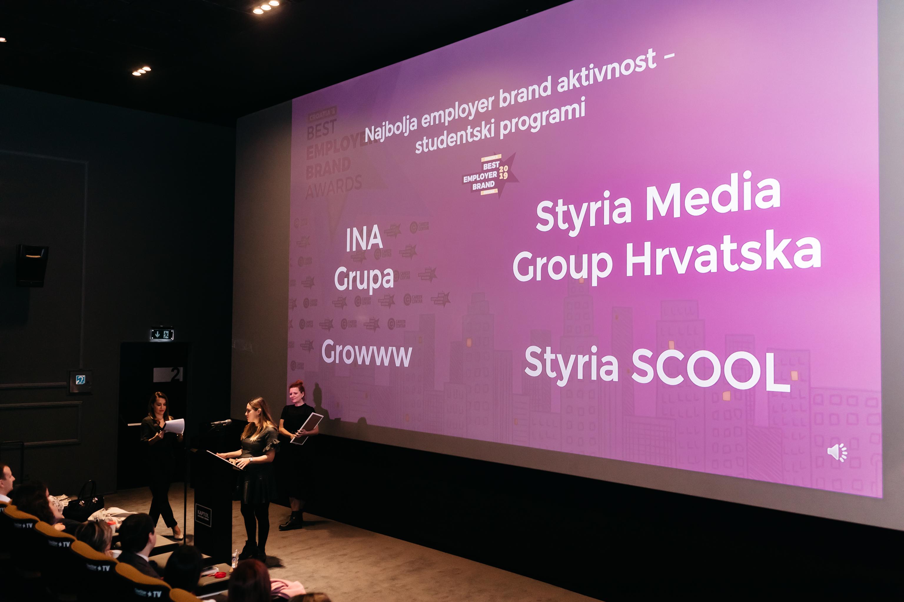 INA i Styria - Najbolji studentski progr