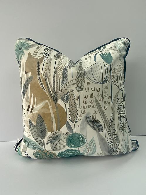 Hand Made 18x18 Harlequin Children's Cushion