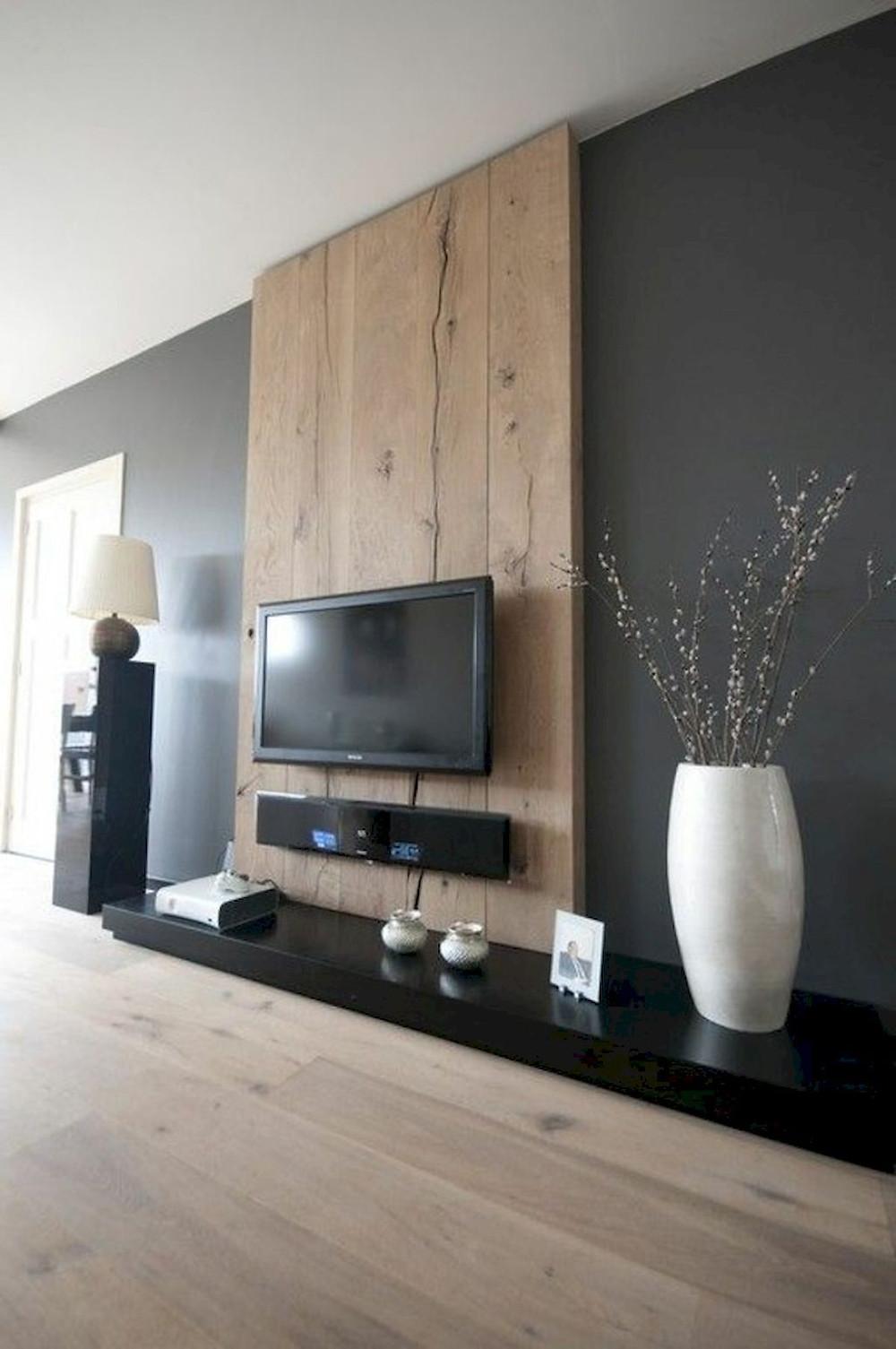 roomadness.com  שילוב צבע ועץ
