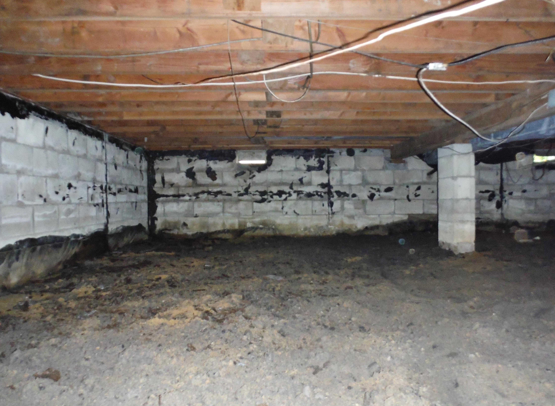 Crawl space Debris Removal