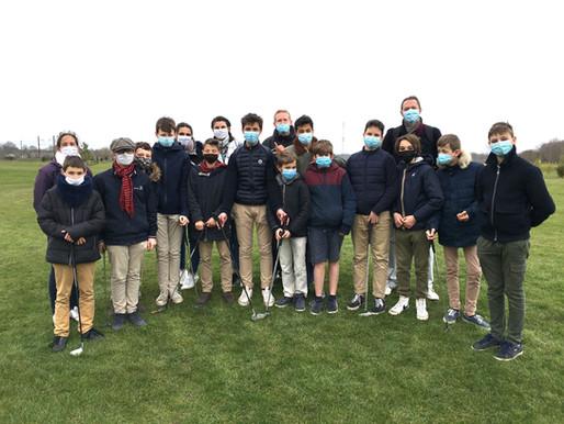 Découverte du golf pour les internes collégiens