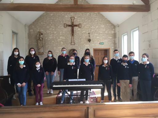 30.03.21 : Les Petits Chanteurs du Prieuré à la Messe Chrismale