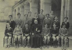 Une classe au milieu du XXe siècle