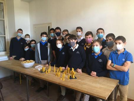 L'aventure de l'atelier apiculture.