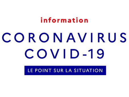 CORONAVIRUS (Tous les niveaux, tous les sites, toutes les classes)