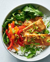 Baked-Tofu-With-Peanut-Sauce-and-Coconut