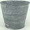 Thumbnail: Set of 3 Zinc Planters