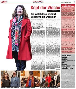 Judith Lüpold Solothurner Woche