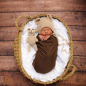 Carter's Hospital Newborn Photoshoot