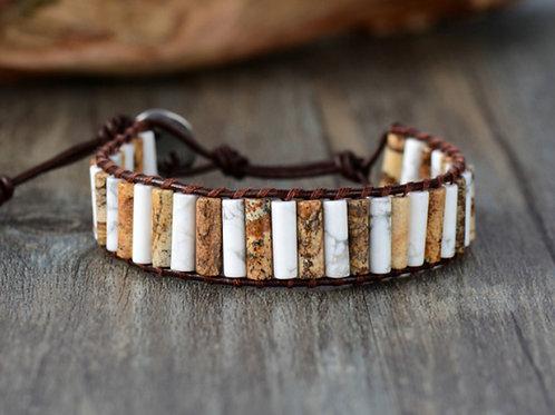 Chakra armband - jaspis