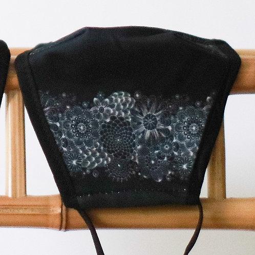 Mondkapje Black Style - wasbaar en herbruikbaar