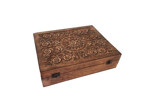 Box 80 vakken Essential Oils Wood