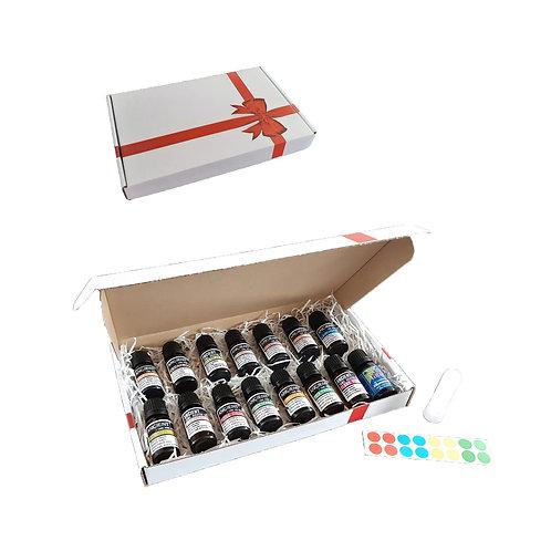 Balance pakket - 15 essential oils - neusinhaler - stickervel