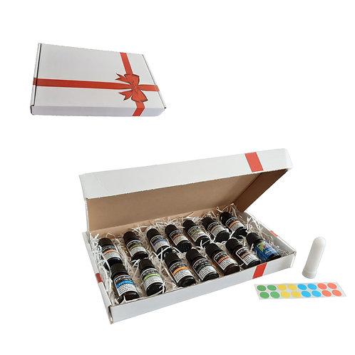 Magical pakket - 14 essential oils - neusinhaler - stickervel