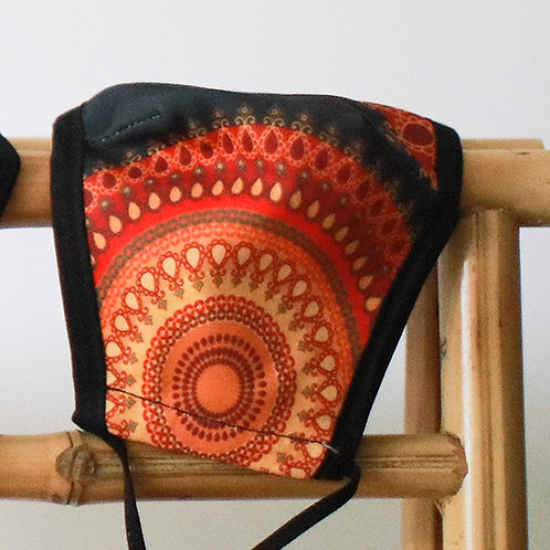 Mondkapje Mandala - wasbaar en herbruikbaar