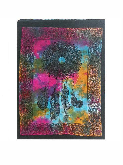 Dromenvanger katoenen wandkleed - 112 x 78 cm