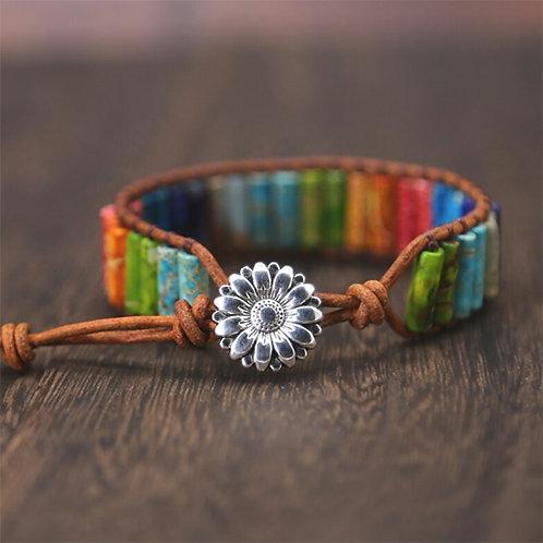 Bohemian Chakra armband - Flower