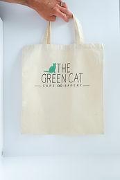 Green Cat Shopper