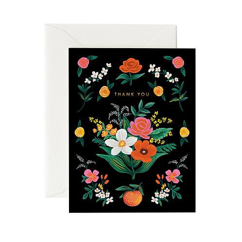 Orangerie Thank You card