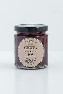 (1) Raspberry & Vanilla Jam