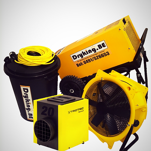 Combi DF800+Ventilator+heater