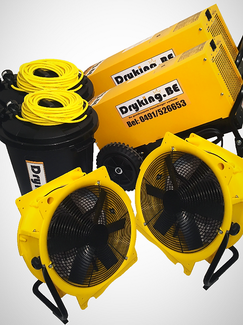 Combi DF800/DF600/2 Ventilatoren