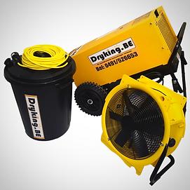 df800 dryfast ventilator bouwdroger te huur beste prijs ontvochtigen bouwdrogers