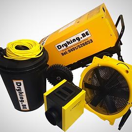 df800 dryfast bouwdroger pakket te huur beste prijs ontvochtigen bouwdroger met heater en ventilator
