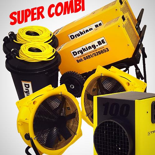 Combi DF800/DF800/2 ventilatoren/Heater 18KW