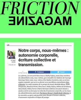 Friction Magazine - Notre corps, nous-mê