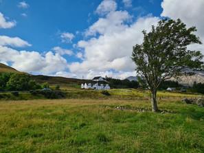 luib croft, old road, luib house isle of skye slef catering accommodation