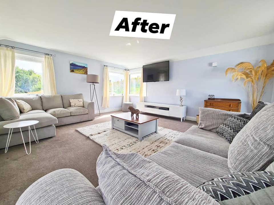 Luib House Isle of Skye Self Catering  Living room