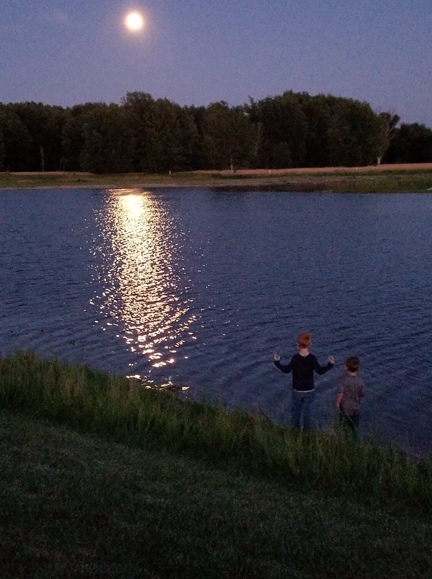 Lake Picture - Drew & Tyler