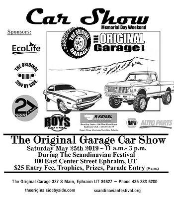 Car Show Entry Fee
