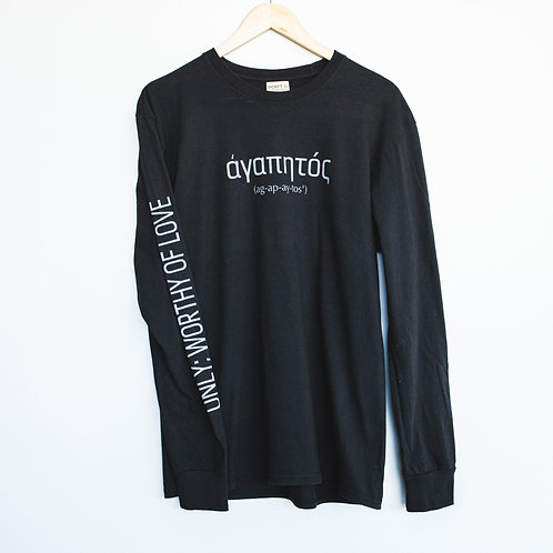 """Worthy of Love"" Long Sleeve Tee"