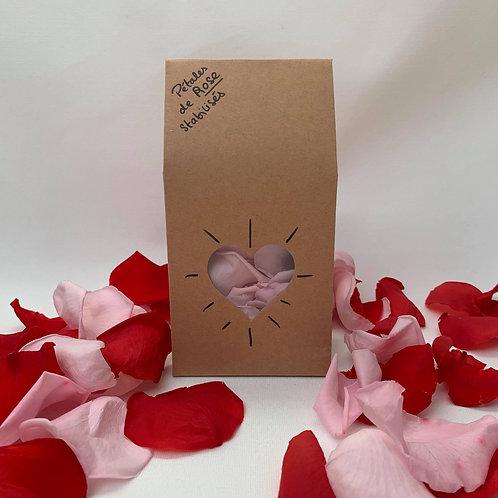 Box de Love - Pétales de rose