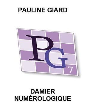 Damier numérologie par Pauline Giard