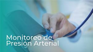 Monitoreo de Presión Arterial