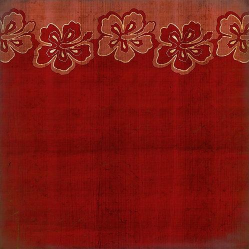 Hibiscus Border Red