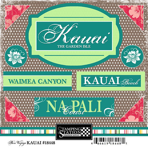 Kaui Small Sticker Pack