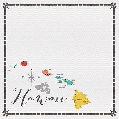 Hawaii Memories Map