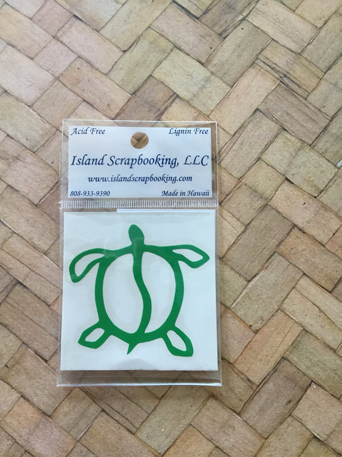 Honu Vinyl Decal Sticker