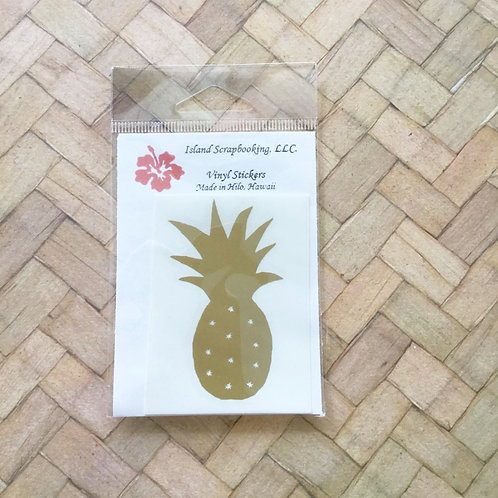 Pineapple Vinyl Decal Sticker