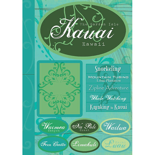 Kaui Large Sticker Pack