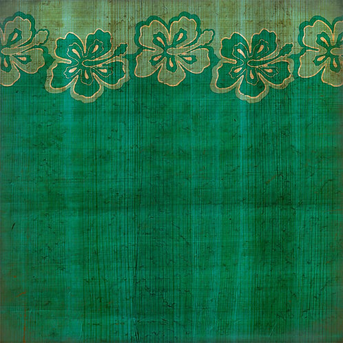 Hibiscus Border Green