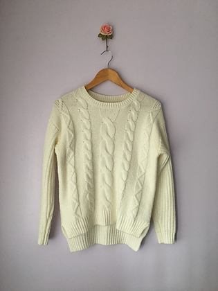 Knitted Braid Detail Jumper