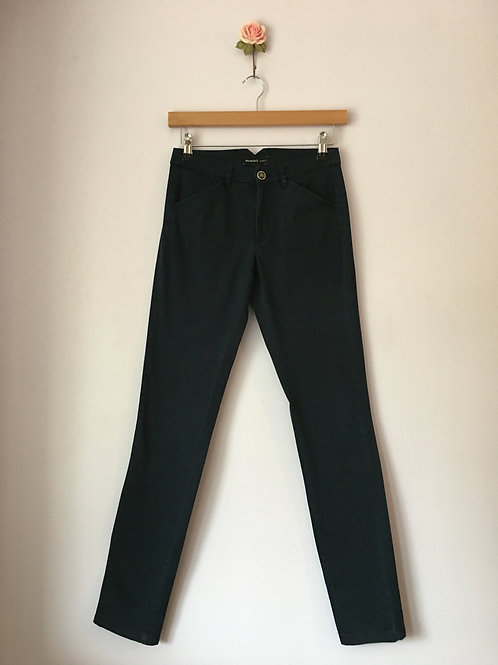 ANKLE LENGTH SLIM TROUSERS
