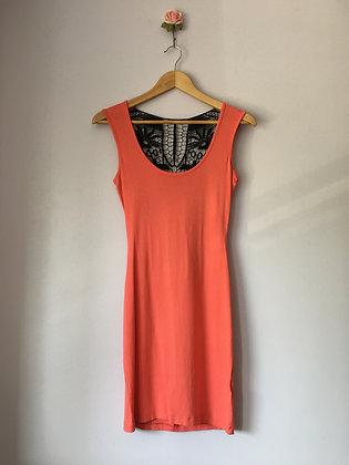 CROCHET BACK DRESS