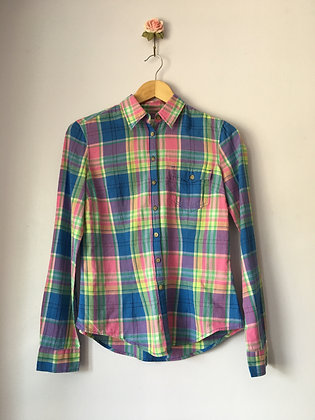 COLOURFUL TARTAN SHIRT